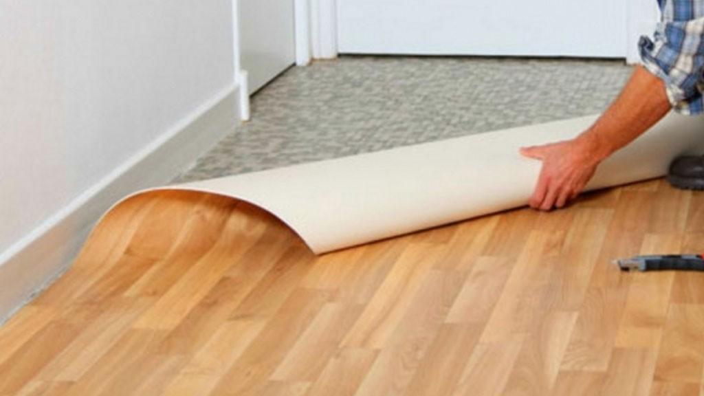 Carpete de madeira vinilico