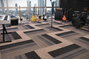 Linha Agregatta - Carpete em réguas